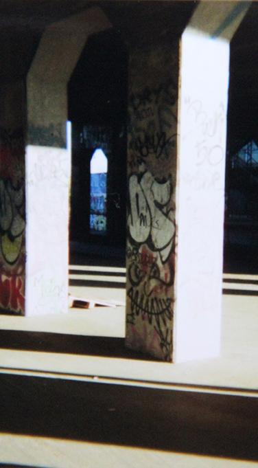 Disposable, camera, photo, graffiti, underground, street