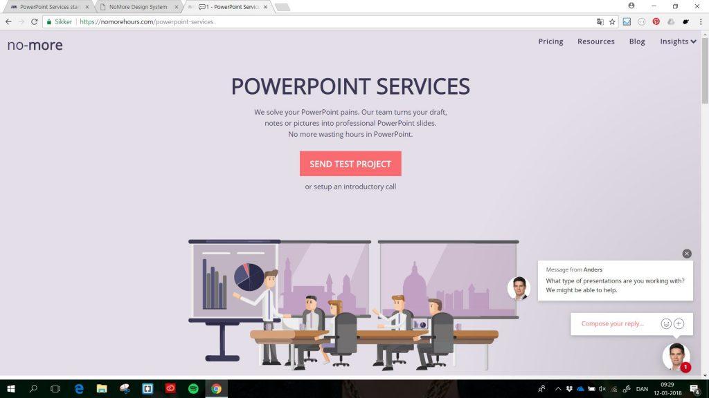 karoline, paarup, portfolio, website, project, nomore, redesign