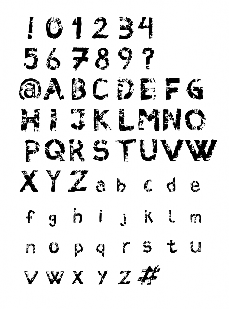 karoline, paarup, portfolio, website, project, typography, font, custom, outrage