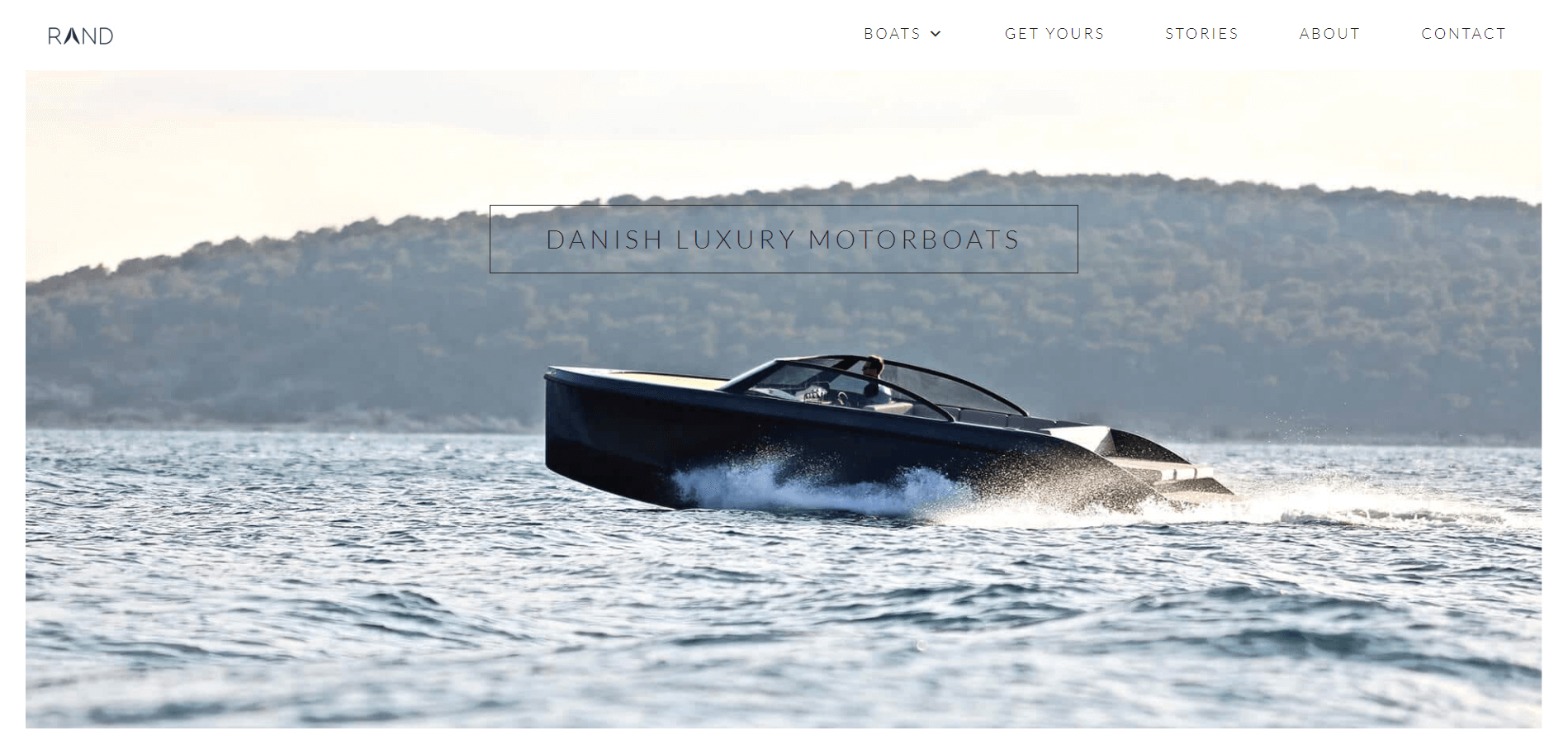 karoline, paarup, portfolio, website, project, rand, boats, website, cover