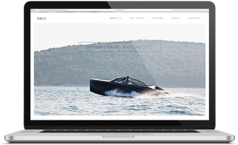 karoline, paarup, portfolio, website, project, rand, boats, website