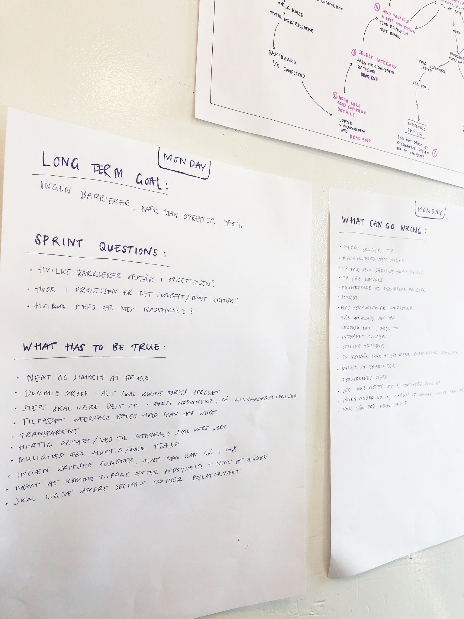 karoline, paarup, portfolio, website, project, trustpilot, onboarding, flow, google, venture, sprint